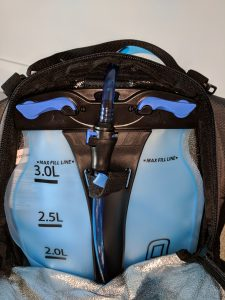 Ogio Dakar 3L Hydration Pack Review Bladder hose quick connect