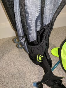 Ogio Dakar 3L Hydration Pack Review Left Side Pouch