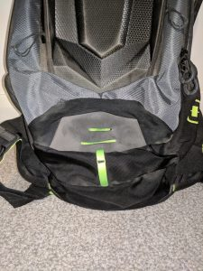 Ogio Dakar 3l Hydration Pack Front compartment ventilation