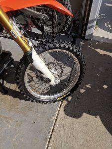 KTM 450 Front tire Dunlop mx32