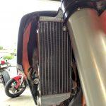 GPI Racing radiator KTM 250 sxf front fitment left