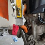 GPI Racing radiator KTM 250 sxf front fitment lower