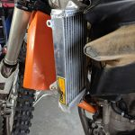 GPI Racing radiator KTM 250 sxf front fitment upper
