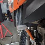 GPI Racing radiator KTM 250 sxf left side lower