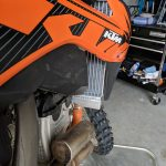 GPI Racing radiator KTM 250 sxf right side lower