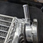 GPI Racing radiator overflow