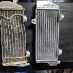 GPI Racing Radiators vs old