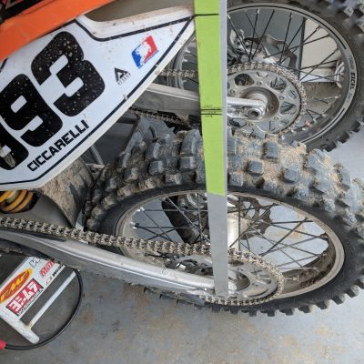 Sag Setting Tool For Dirt Bike Suspension