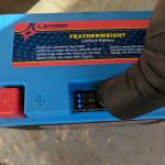 WPS Featherweight Lithium Battery Battery Capacity Indicator Full