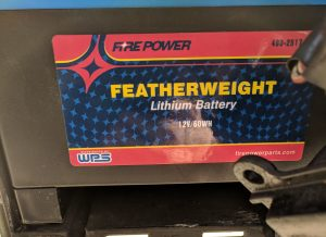 WPS Featherweight Lithium Battery