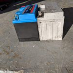 WPS Featherweight Lithium Battery height with shims
