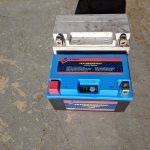WPS Featherweight Lithium Battery terminals