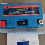WPS Featherweight Lithium Battery Weight Grams
