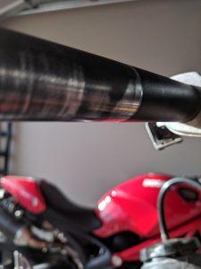 Throttle tube wear bottom