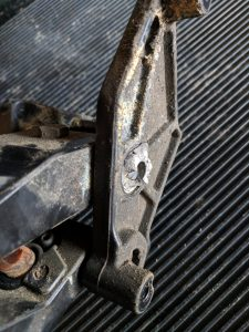 AMP Research Powerstep Broken Gear