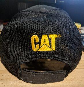 Cat Diesel Power Trucker Hat back