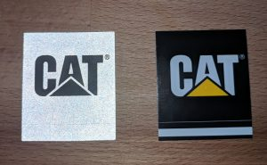 Cat Diesel Power Trucker Hat Smokey and the Bandit Stickers