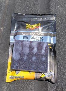 Meguiars Black Plastic Restorer Trim Sponge