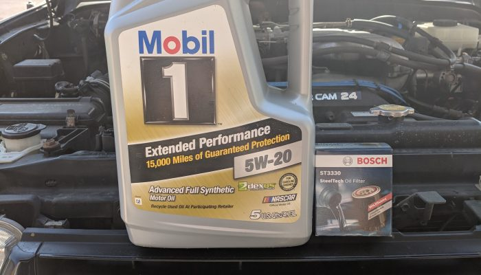 Toyota 4Runner Oil Change QUICK REFERENCE