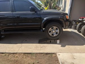 Toyota 4Runner Oil Change Ramps Side 2