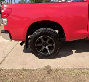 Fuel Off Road Beast Wheel Rear - Toyota Tundra