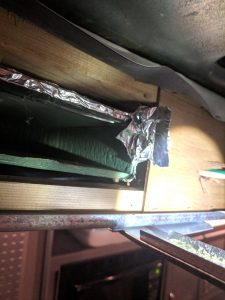 RV Air Conditioner Not Blowing Cold Duct Foil