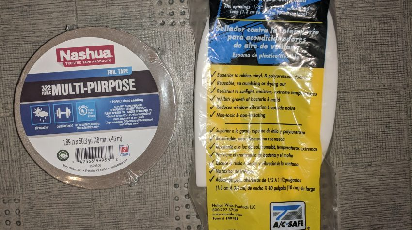RV Air Conditioner Not Blowing Cold HVAC Duct Sealing Materials