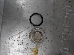Toyota Tundra 5.7 Oil Change Oil Filter O Ring