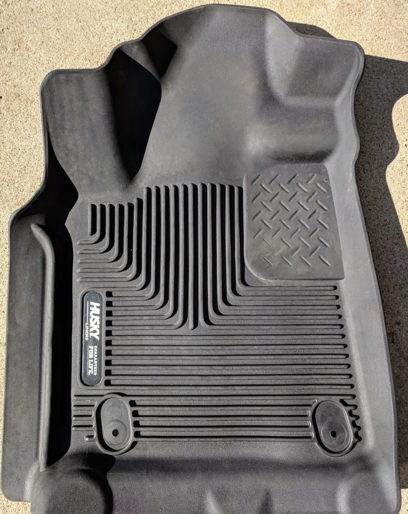 Husky Liner Tundra Front Driver Cleaned