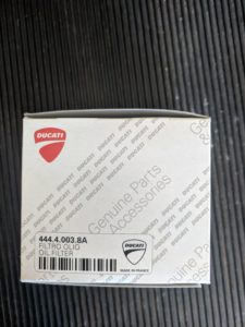 Ducati Monster 696 Oil Filter Part Number: 44440038A