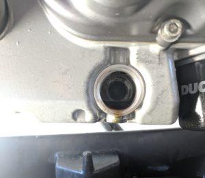 Ducati Monster 696 Oil Screen