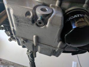 Ducati Monster 696 Oil Screen Drain Plug