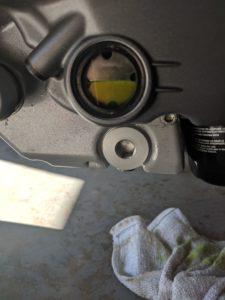 Ducati Monster 696 Oil Sight Glass