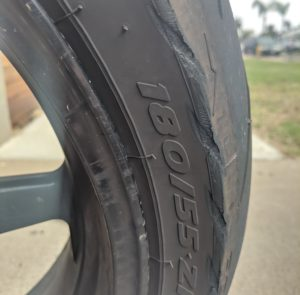 Motorcycle Chain Adjustment Tire Wear