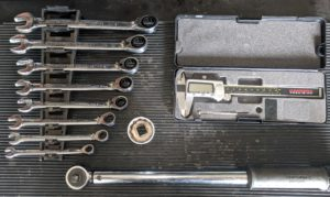 Motorcycle Chain Adjustment Tools