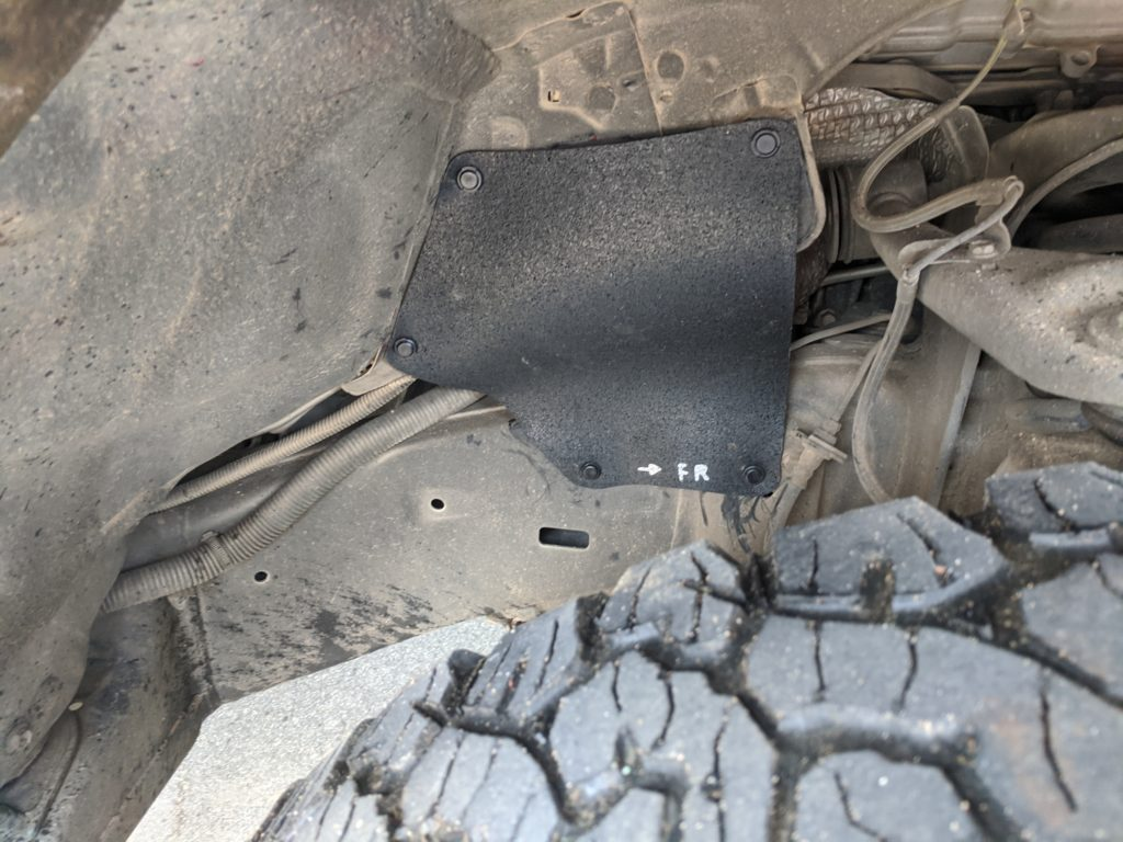 Toyota Tundra Fender Liner driver front