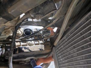KTM 250 Spark Plug Boot Frame Notch