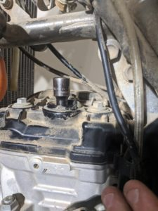 KTM 250 Spark Plug Socket Extension
