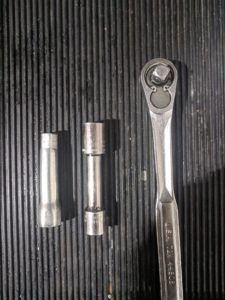 KTM Spark Plug Tool and Wrench